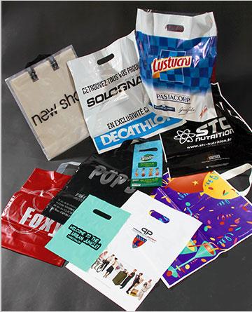 Sac publicitaire personnalisé - fabricant sac plastique